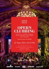 Opern Clubbing, 8010 Graz  1. (Stmk.), 13.09.2014, 22:00 Uhr