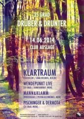 35 Grad Drüber&Drunter w/Klartraum (Lucidflow, Berlin), 1160 Wien 16. (Wien), 14.06.2014, 23:00 Uhr