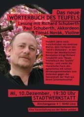Das neue Wörterbuch des Teufels, 4020 Linz (OÖ), 10.12.2014, 19:30 Uhr