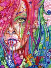 Psychedelic Art von Kitty