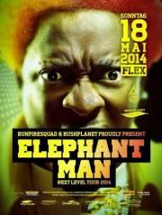 Elephant Man Live, 1010 Wien  1. (Wien), 18.05.2014, 20:00 Uhr