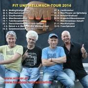 Wir vier - Ulli Baer - Harald Fendrich - Gary Lux - Harry Stampfer, 9020 Klagenfurt  1. (Ktn.), 24.10.2014, 20:00 Uhr