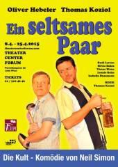 Ein seltsames Paar - Komödie von Neil Simon, 1090 Wien  9. (Wien), 08.04.2015, 19:30 Uhr