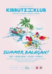 Kibbutz Klub: Summer Balagan!, 1010 Wien  1. (Wien), 28.06.2014, 22:00 Uhr