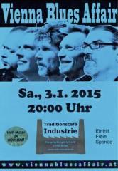 Vienna Blues Affair im Industrie!, 1050 Wien  5. (Wien), 03.01.2015, 20:00 Uhr