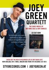 The Joey Green Quartett: Nat King Cole-Ray Charles Music, 1130 Wien,Hietzing (Wien), 22.11.2013, 20:00 Uhr