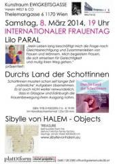 Lilo Paral Durchs Land der Schottinnen, 1170 Wien 17. (Wien), 08.03.2014, 19:00 Uhr