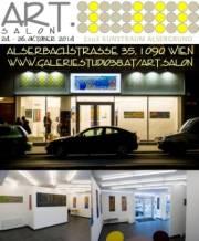ART.SALON 2014  Erlesenes aus Kunst & Literatur, 1090 Wien  9. (Wien), 26.10.2014, 11:00 Uhr