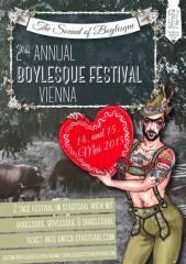 Jacques Patriaque und kulturbanane.at präsentieren 2nd Annual Boylesque Festival, 1060 Wien  6. (Wien), 14.05.2015, 19:00 Uhr