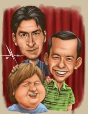 Two and a half men 4-Ever von aaaa Kaiii