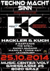 Hackler & Kuch - TMS, 8020 Graz 16. (Stmk.), 25.10.2014, 22:00 Uhr