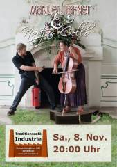Manuel Hafner & Nadjas Cello im Industrie!, 1050 Wien  5. (Wien), 08.11.2014, 20:00 Uhr