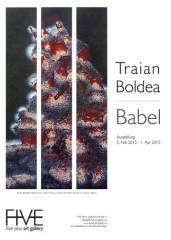 """Ausstellung """"Traian Boldea / Babel"""", 1040 Wien  4. (Wien), 31.03.2015, 13:00 Uhr"""