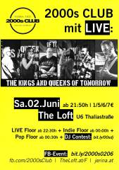 2000s Club mit LIVE: The Kings , 1160 Wien,Ottakring (Wien), 02.06.2018, 21:00 Uhr