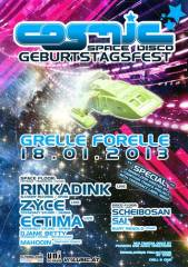 Cosmic - Geburtstag mit Rinkadink & Zyce, 1090 Wien  9. (Wien), 18.01.2014, 22:00 Uhr
