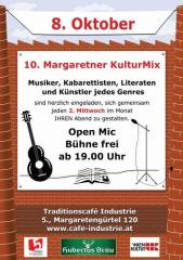 10. Margaretner KulturMix im Industrie, 1050 Wien  5. (Wien), 08.10.2014, 20:00 Uhr