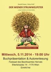 Der Wiener Struwwelpeter - Buchpräsentation & Autorenlesung, 1170 Wien 17. (Wien), 05.11.2014, 19:00 Uhr