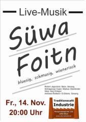 Süwafoitn im Industrie!, 1050 Wien  5. (Wien), 14.11.2014, 20:00 Uhr