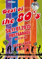 Best of the 80s, 8020 Graz  5. (Stmk.), 17.01.2015, 22:00 Uhr