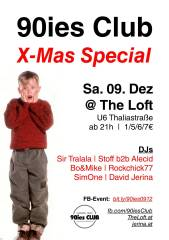 90ies Club: X-Mas Special!, 1160 Wien,Ottakring (Wien), 09.12.2017, 21:00 Uhr