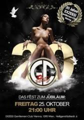 20 Jahre EXZESS! Gentlemen-Club Vienna  Eine Legende feiert, 1090 Wien  9. (Wien), 25.10.2013, 21:00 Uhr