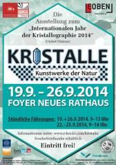 Kristalle - Kunstwerke der Natur, 8700 Leoben (Stmk.), 26.09.2014, 09:00 Uhr