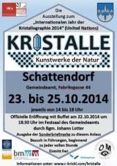 Kristalle - Kunstwerke der Natur, 7022 Schattendorf (Bgl.), 25.10.2014, 14:00 Uhr