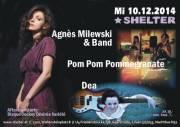 Agnes Milewski + Dea  + Pom Pom Pommegranate, 1200 Wien 20. (Wien), 10.12.2014, 20:00 Uhr