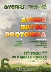 6 Jahre Progressive Selection pres. Atmos, Day Din & Protonica live, 1090 Wien  9. (Wien), 17.05.2014, 22:00 Uhr