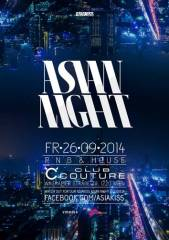 Asiakiss Asian Night @ Club Couture, 1220 Wien 22. (Wien), 26.09.2014, 22:00 Uhr