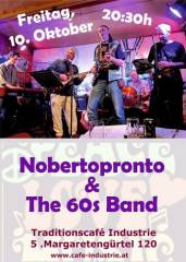 Nobertoprontos 60s Band im Industrie, 1050 Wien  5. (Wien), 10.10.2014, 20:30 Uhr