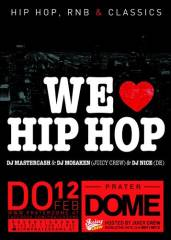 We love Hip Hop, 1020 Wien  2. (Wien), 12.02.2015, 22:00 Uhr