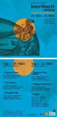 hoerthoert Festival für Zuhörkultur Salzburg, 5020 Salzburg (Sbg.), 21.03.2015, 20:00 Uhr