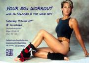 YOUR 80s WORKOUT WITH DJ EL SALGADO , 1080 Wien,Josefstadt (Wien), 24.10.2015, 23:00 Uhr