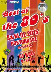 Best of the 80s, 8020 Graz  5. (Stmk.), 14.02.2015, 22:00 Uhr