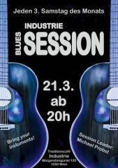 Industrie-Blues-Session, 1050 Wien  5. (Wien), 21.03.2015, 20:00 Uhr