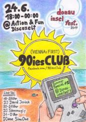 90ies Club: Summer Special #2 @ Donauinselfest, 1210 Wien,Floridsdorf (Wien), 24.06.2017, 18:00 Uhr