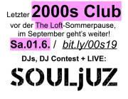 2000s Club mit LIVE: Souljuz!, 1160 Wien,Ottakring (Wien), 01.06.2019, 21:45 Uhr