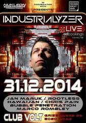 This is the end of 2014 - Industrialyzer live, 8020 Graz 16. (Stmk.), 31.12.2014, 22:00 Uhr