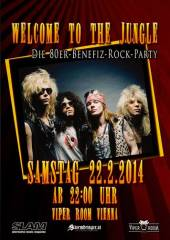 Welcome To The Jungle - Die 80er-Benefiz-Rock-Party, 1030 Wien  3. (Wien), 22.02.2014, 22:00 Uhr