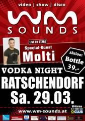 WM-Sounds mit Special-Guest Molti, 8482 Ratschendorf (Stmk.), 29.03.2014, 20:30 Uhr