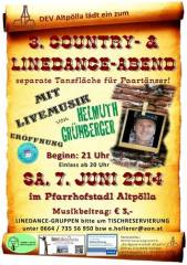 3. Country- & Linedanceabend in Altpölla, 3593 Altpölla (NÖ), 07.06.2014, 20:00 Uhr