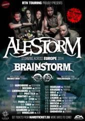 Alestorm + Brainstorm, 1110 Wien 11. (Wien), 29.09.2014, 19:30 Uhr