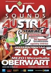 WM-Sounds Austria mit Star-Act fii | Mezo Oberwart, 7400 Oberwart (Bgl.), 20.04.2014, 21:00 Uhr