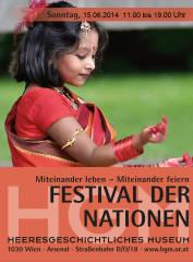 Festival der Nationen, 1030 Wien,Landstraße (Wien), 15.06.2014, 10:30 Uhr