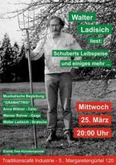 Walter Ladisich & gramattrio, 1050 Wien  5. (Wien), 25.03.2015, 20:00 Uhr