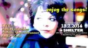 enjoy the songs! - Live: Maria Loibichler + Michael Gutenbrunner + Angie Zach, 1200 Wien 20. (Wien), 13.02.2014, 20:00 Uhr