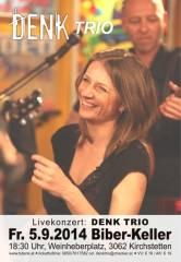 DENK Trio im Biber-Keller, 3062 Kirchstetten (NÖ), 05.09.2014, 18:30 Uhr