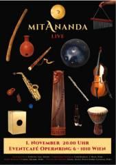 Mitananda.., 1010 Wien  1. (Wien), 01.11.2014, 20:30 Uhr