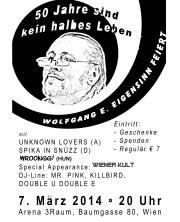 50 jahre sind kein halbes leben, 1030 Wien,Landstraße (Wien), 07.03.2014, 20:00 Uhr